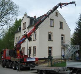 Kran von Metallbau Arndt Seifert